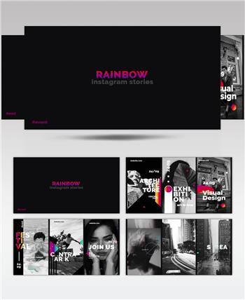 16517 彩虹元素手机端视频包