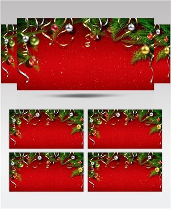 圣诞节 (16) 圣诞节动态视频节日庆典视频 庆祝视频节日视频 节日庆典