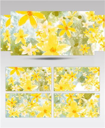 春天的花朵036HDBackground2动态背景视频背景春节 新年 新春佳节 过年
