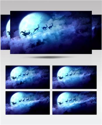 圣诞节 (8) 圣诞节动态视频节日庆典视频 庆祝视频节日视频 节日庆典