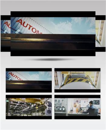 科尼公司 Konecranes Corporate延时拍摄高清视频素材延时实拍视频