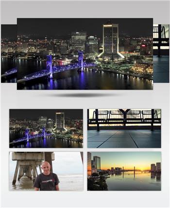 杰克逊维尔 Jacksonville延时拍摄高清视频素材延时实拍视频