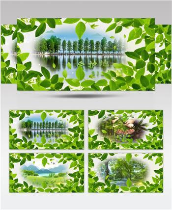 清新312植树节爱护环境AE模板