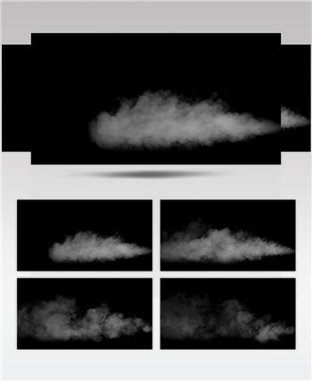 -带通道的烟雾高清素材带通道的烟雾高清素材Atmosphere04