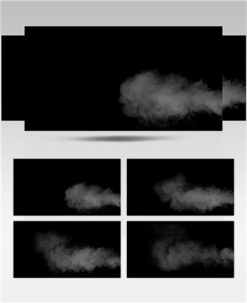 -带通道的烟雾高清素材带通道的烟雾高清素材Atmosphere01