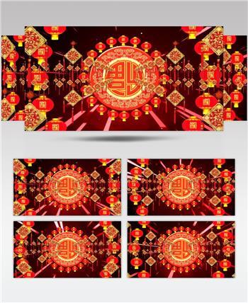 元旦春节素材新年春节视频春节 新年 新春佳节 过年