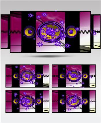音乐喇叭 abstract_speaker_2 酒吧视频 dj舞曲 夜店视频 酒吧音乐喇叭