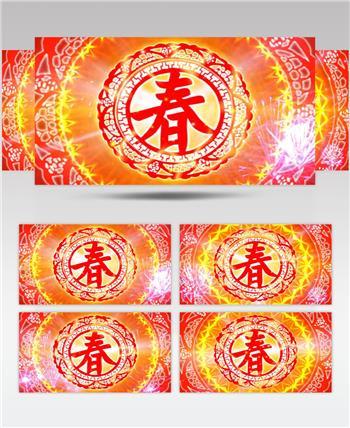 春新年春节视频春节 新年 新春佳节 过年