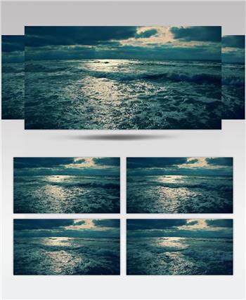 海浪海景 款A19576海浪海景有音乐 led视频素材