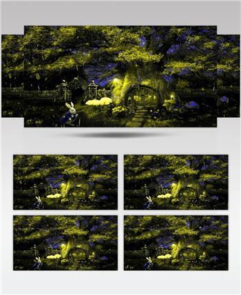 梦幻童话森林 款A00147梦幻童话森林无音乐