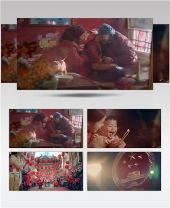 中国新年过年春节1热热闹闹过新年