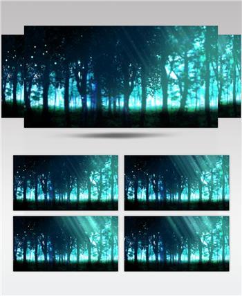 梦幻童话森林 款A00138梦幻童话森林无音乐 led视频素材