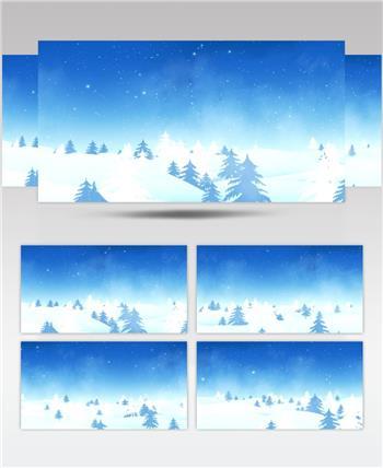 圣诞节 (15) 圣诞节动态视频节日庆典视频 庆祝视频节日视频 节日庆典