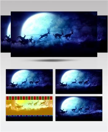 圣诞节 (7) 圣诞节动态视频节日庆典视频 庆祝视频节日视频 节日庆典