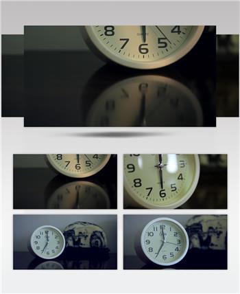 实拍闹钟六点七点