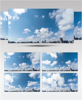 天空云流动