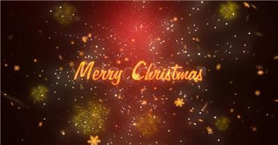 11964 多图汇聚圣诞文字展示 免费AE模板片头视频模板, AE素材,国外AE源文件下载 片头ae素材