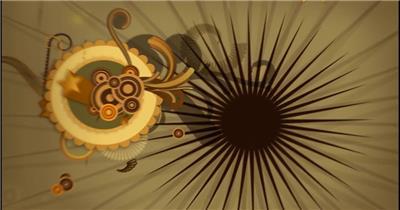 动感炫酷 涂鸦风格炫酷视频背景 酒吧视频