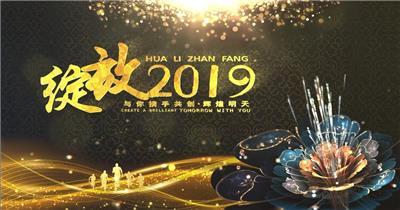 1 2019猪年新年led 2019新年2019春节