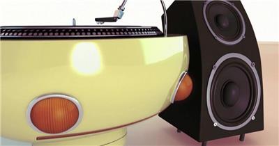 唱机机器人酒吧炫动系列酒吧背影动态背景酒吧炫动系列 酒吧动感光效