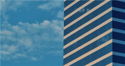 城市建筑与天空风光