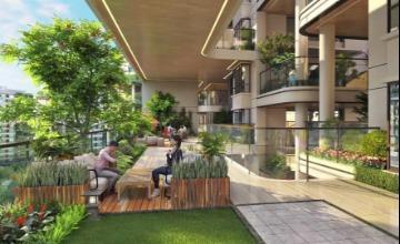 第四代住宅超级大阳台园林景观设计