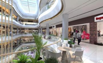 商业购物广场三维建筑动画
