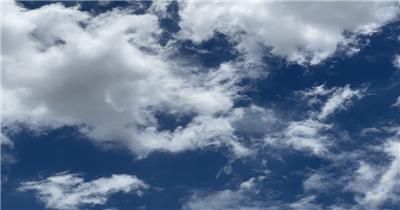 万图聚-蓝天白云 自然气象 晴天白云 晴朗天空 聚焦